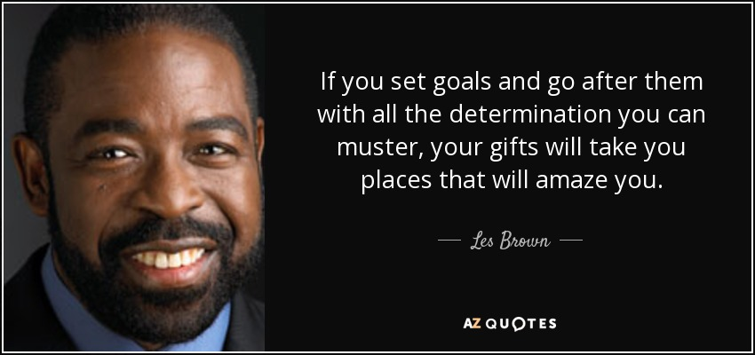 10 life-changing quotes spoken by Les Brown
